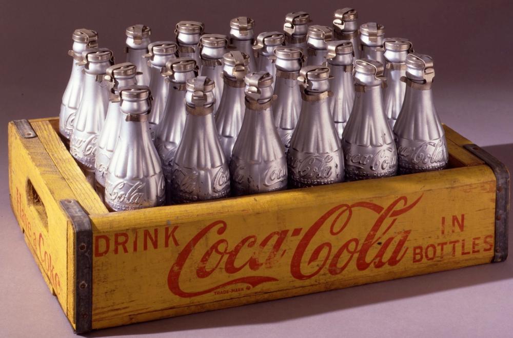 Silver Coke BottlesA