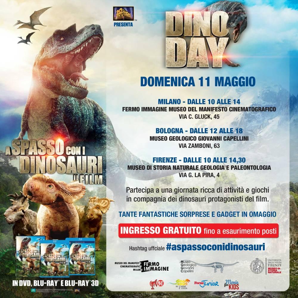 Domenica #aspassoconidinosauri
