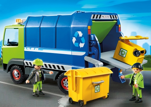 PLAYMOBIL_6110_Recycling Truck