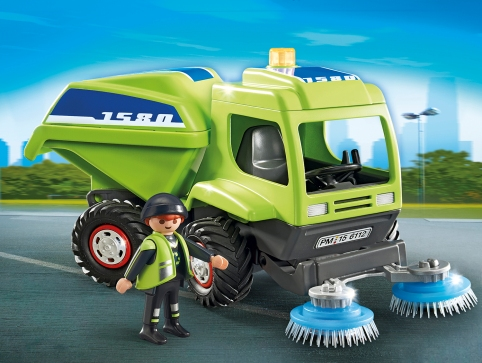 PLAYMOBIL_6112_Street Cleaner