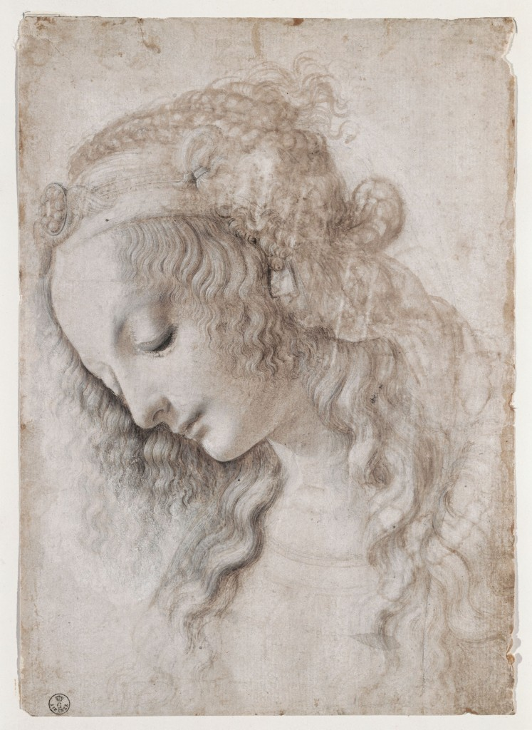2 ID 25. Leonardo da Vinci Studio di volto femminile