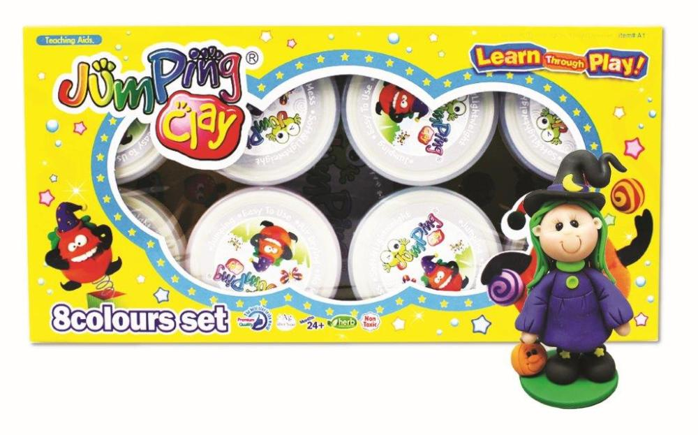 Jumping Clay Halloween (2)