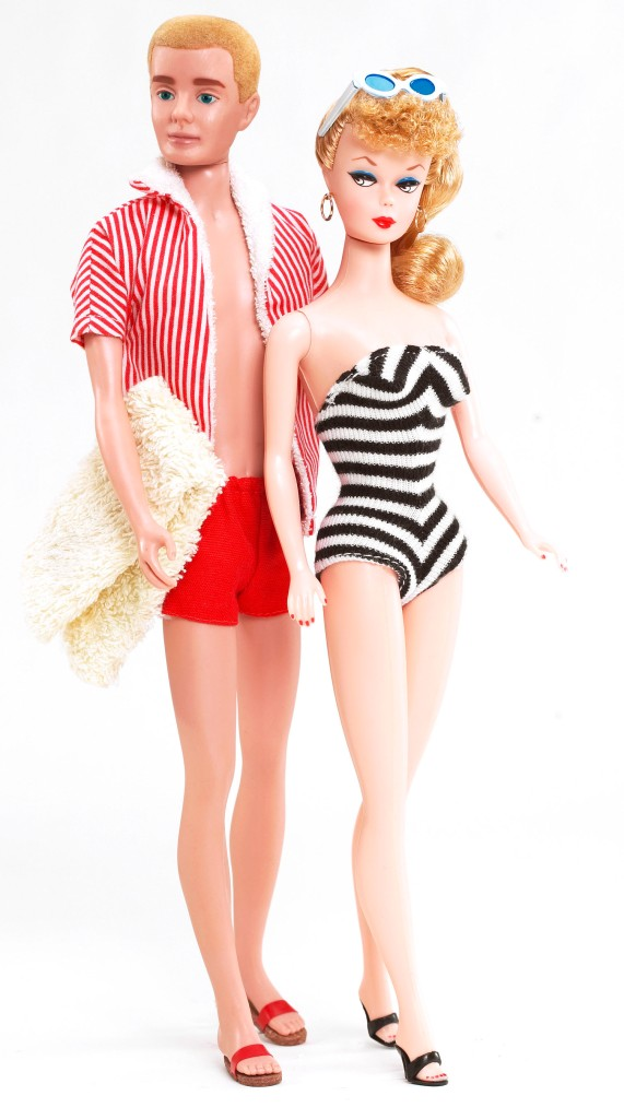 2. Barbie e Ken, 1961