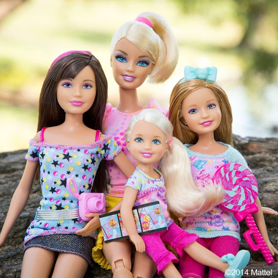 4. Barbie con Skipper, Stacie e Chelsea