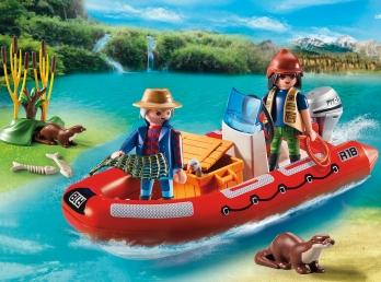 Gommone avventura con esploratori